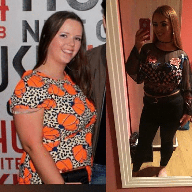 Ciara has lost nearly 3 stone in The D4 Clinic
