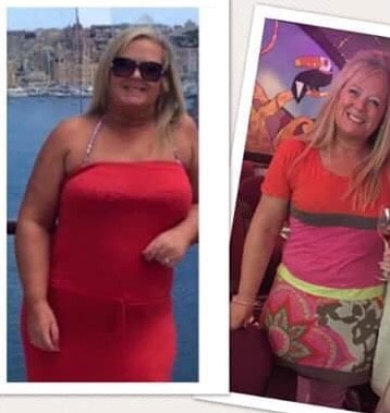 Gaby has lost over 2 stone in The D4 Clinic