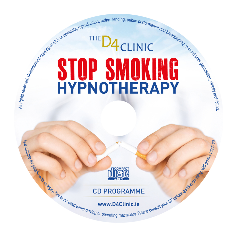 D4 Clinic Smoking Cd Label Indd D4 Clinic Hypnotherapy Dublin