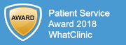 Awarded by WhatClinic.com